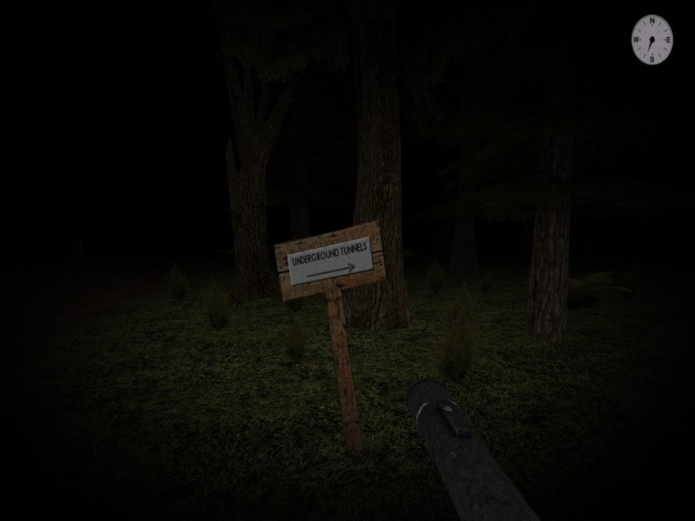 Screenshot 1 - Slender's Woods