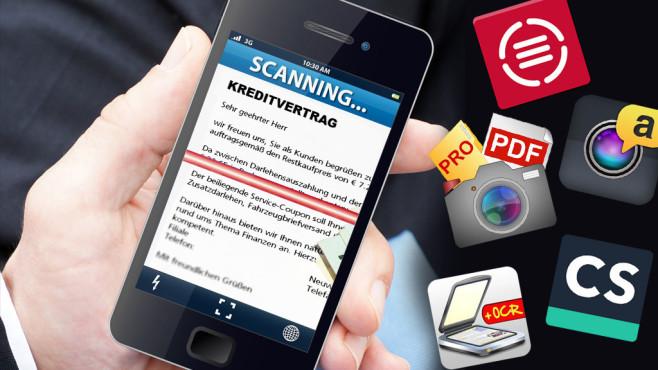 Scanner Apps Im Test Computer Bild