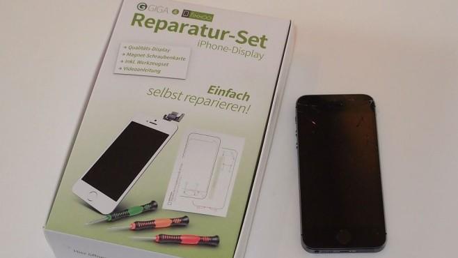 iPhone 5S Display Reparaturset©COMPUTER BILD
