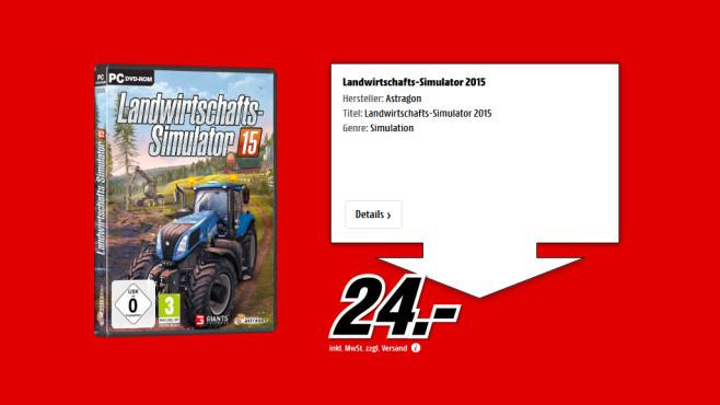 Landwirtschafts-Simulator 15 ©Saturn