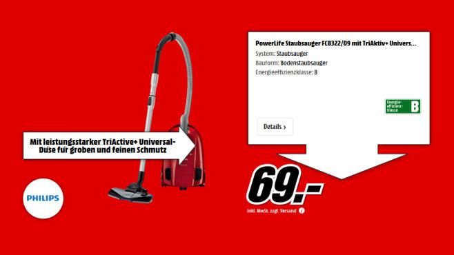 Philips FC 8322/09 PowerLife ©Saturn