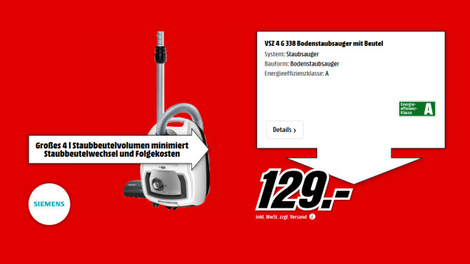 Siemens VSZ4G338 ©Saturn