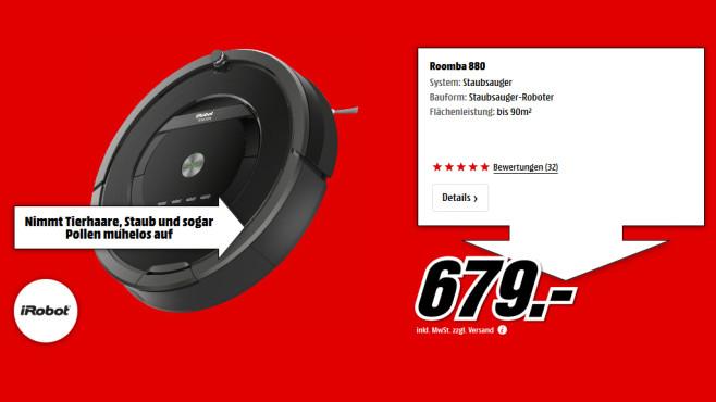 iRobot Roomba 880 ©Saturn