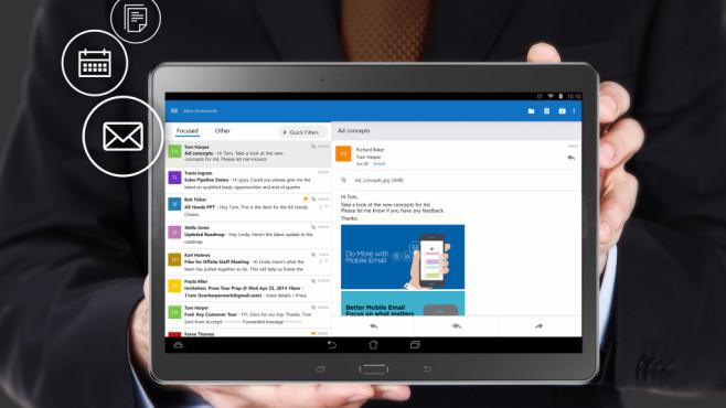 Finale Office-Apps plus Outlook verfügbar©Microsoft
