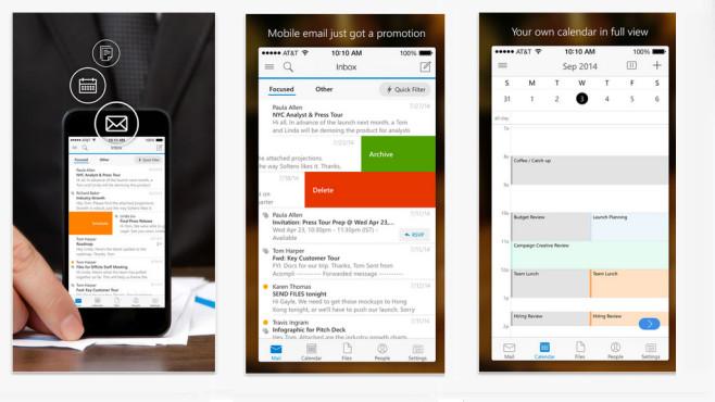 Outlook für iOS©Microsoft