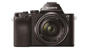 Sony Alpha 7 von vorn mit Zoom©Sony