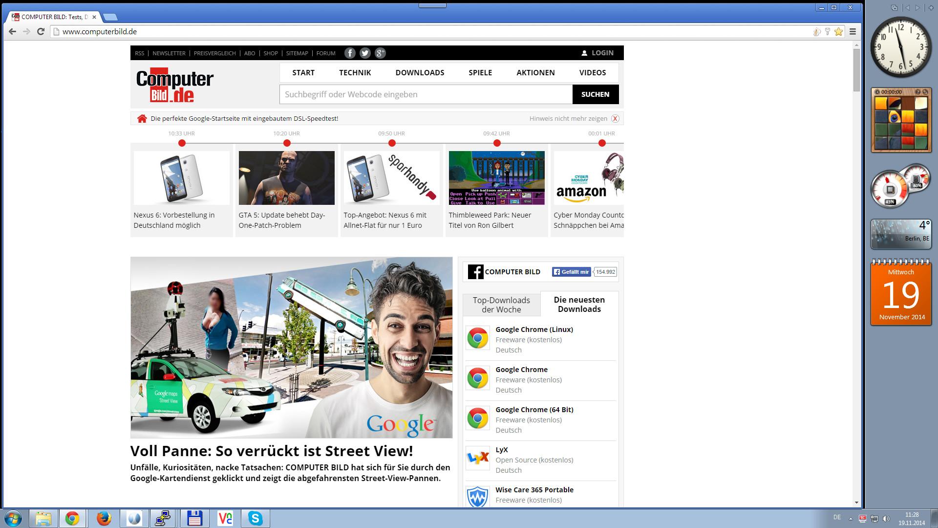 Screenshot 1 - 7 Sidebar