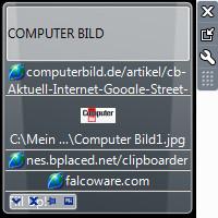Screenshot 1 - Clipboarder