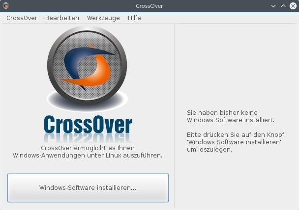 Screenshot 1 - CrossOver für Linux