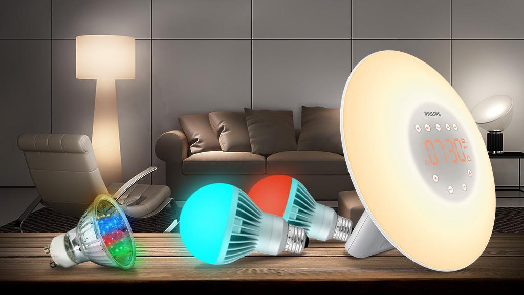 licht gadgets 10 tolle lampen computer bild. Black Bedroom Furniture Sets. Home Design Ideas