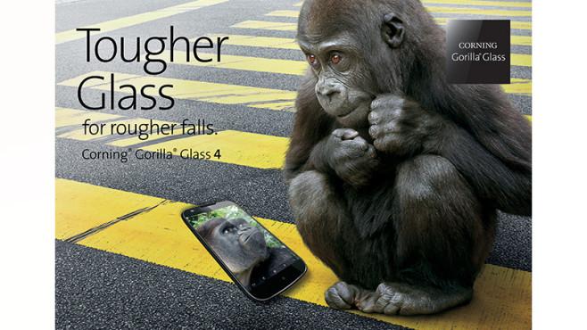 Gorilla Glass 4©Corning