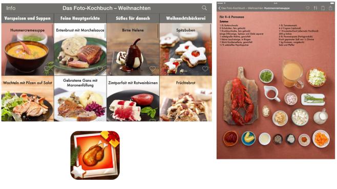 Foto-Kochbuch Weihnachten ©ditter.projektagentur GmbH