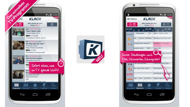 Klack – TV-Planer ©Gong Verlags GmbH