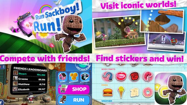 Run Sackboy! Run! ©PlayStation Mobile Inc