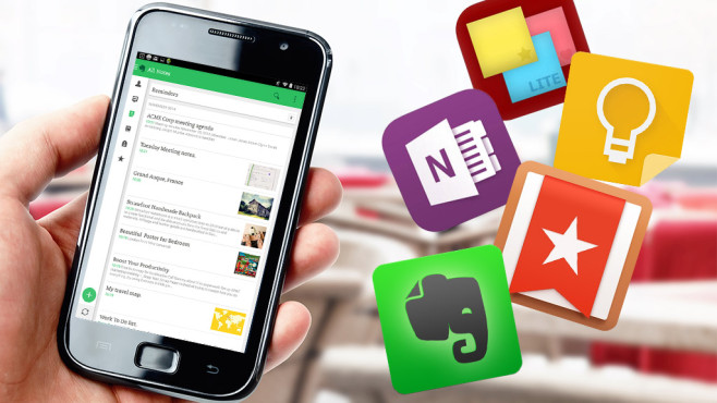 Beliebte Scanner-Apps im Vergleich©pab_map - Fotolia.com, Evernote, 6 Wunderkinder, Microsoft, Google, ALSEDI Group