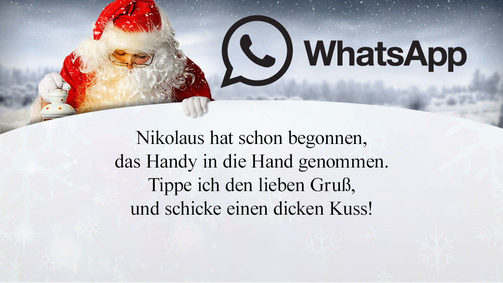 Die Besten Whatsapp Sprüche Zum Nikolaus Bilder Screenshots