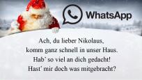 Die schönsten und lustigsten WhatsApp-Sprüche zum Nikolaus©WhatsApp,  tananddda - Fotolia.com, JiSign - Fotolia, magdal3na - Fotolia.com
