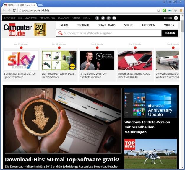 Screenshot 1 - Comodo Chromodo Secure Browser