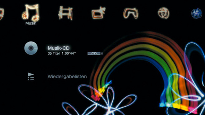Wichtige Funktionen: Musik ©Sony, COMPUTER BILD SPIELE