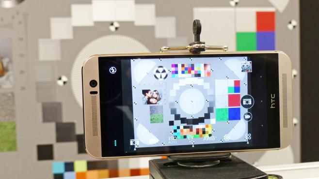 Fotomessung HTC One M9©COMPUTER BILD