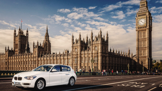 DriveNow: Gibt's jetzt auch in London.©DriveNow