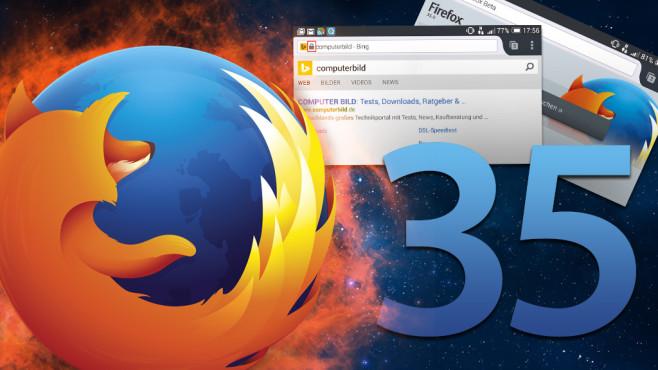 Firefox 35 im Praxis-Test©pixel - Fotolia.com, Mikhail Ulyannikov - Fotolia.com, Mozilla