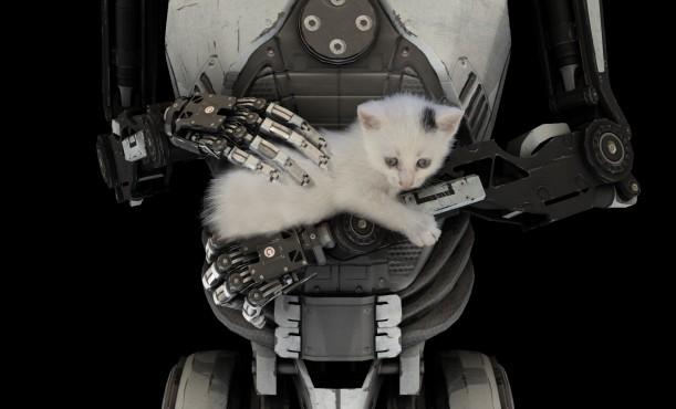 Talos Principle Robot Cat©Croteam