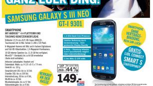 Samsung Galaxy S3 Neo bei Lidl©COMPUTER BILD