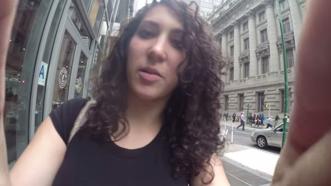 10 Hours of Walking in NYC as a Woman © YouTube, Street HarassmentVideo