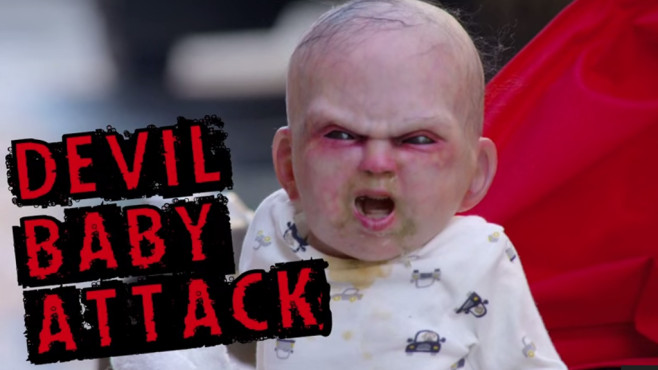 Devil Baby Attack © YouTube, DevilsDuelNYC