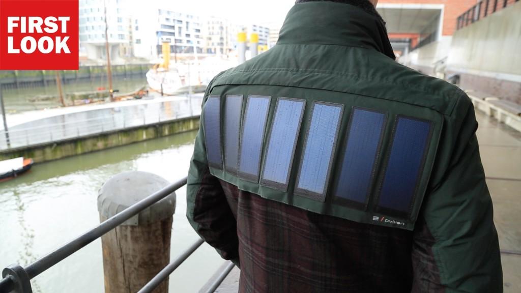 Mantel An Sonne Tanken Tommy Hilfiger Zeigt Jacke Mit