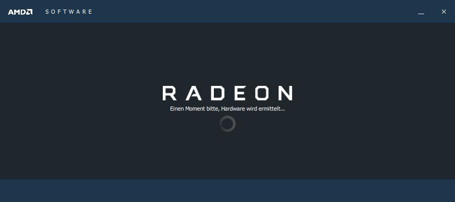 Screenshot 1 - AMD-Treiber: Radeon-Software Crimson ReLive Edition (Windows 8.1, 32 Bit)