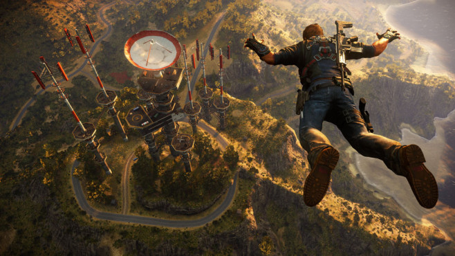 Actionspiel Just Cause 3: Fall ©Square Enix