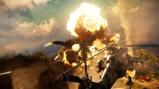 Actionspiel Just Cause 3: Knall ©Square Enix