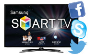 Social TV©Samsung, Twitter, Facebook, Skype