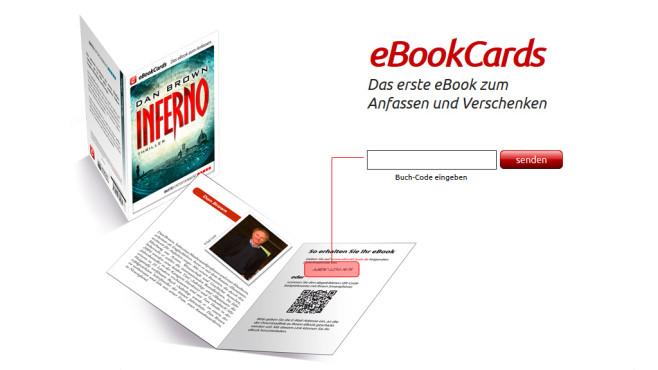 eBookCards einlösen – so geht's©Epidu GmbH