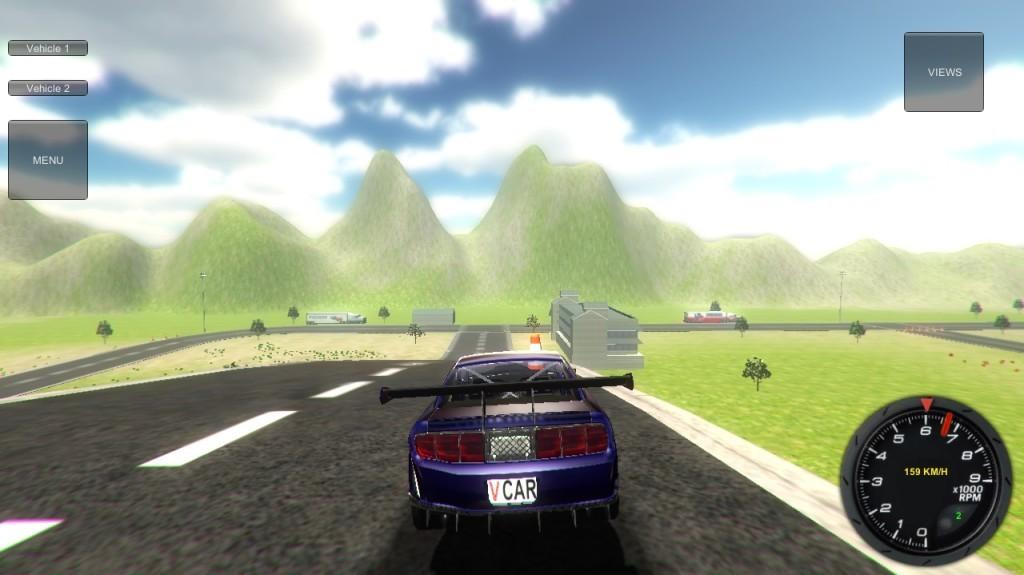 Screenshot 1 - Car Simulator 3D