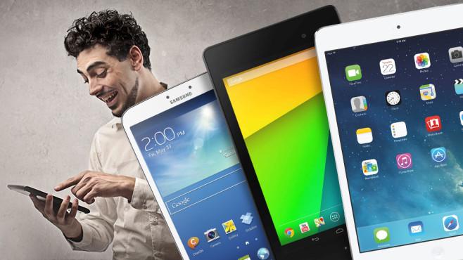 Asus oder iPad? Die besten Tablets für jeden Geldbeutel Android, iOS oder Windows? COMPUTER BILD präsentiert die besten Tablets für jedes Budget.©olly - Fotolia.com, Apple, Samsung, Google