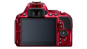 Nikon D5500 Rot Rückseite©Nikon