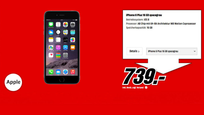 Preis iphone 6 media markt