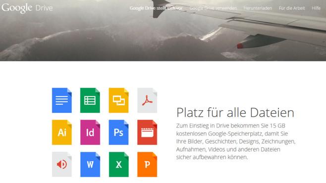 Google Drive öffnet nun auch ODF-Dateien©Google