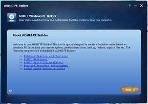Aomei PE Builder