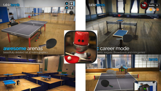 Table Tennis Touch ©Yakuto Limited