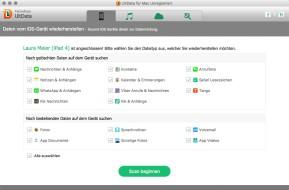 Tenorshare UltData (iPhone Data Recovery) (Mac)