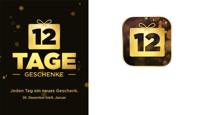 """""""12 Tage Geschenke""""-App von Apple©Apple"""