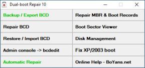Dual Boot Repair Tool