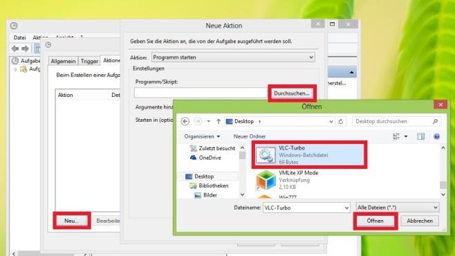 Zur Batch-Datei navigieren ©COMPUTER BILD