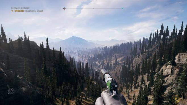 Far Cry 5 im Test: Hipster und Hetzer Hope County ist wunderschön und die Fernsicht imposant.©Ubisoft