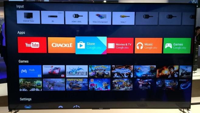 Sony KD-55X9005C Android TV©COMPUTER BILD