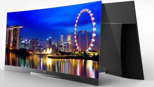Scharfe Kurven: Das sind die Fernseher-Highlights der CES 2015 XXL-TV: Stolze 2,67 Meter Bilddiagonale hat Haiers 105Q8000, zudem kommt er mit ultrascharfer 5K-Auflösung.©Haier